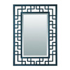 Yosemite Home Decor 28-in H x 20-in W Iron Rectangular Bathroom Mirror