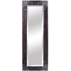 Yosemite Home Decor 24.5-in W x 71.5-in H Antique Silver Rectangular Bathroom Mirror