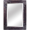 Yosemite Home Decor 44-1/2-in H x 32-1/2-in W Antique Silver Rectangular Bathroom Mirror