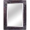 Yosemite Home Decor 32.5-in W x 44.5-in H Antique Silver Rectangular Bathroom Mirror
