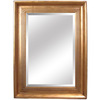 Yosemite Home Decor 46-1/2-in H x 33-1/2-in W Antique Golden Rectangular Bathroom Mirror