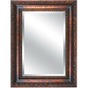 Yosemite Home Decor 46-1/2-in H x 35-in W Antique Golden Rectangular Bathroom Mirror