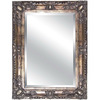 Yosemite Home Decor 47-in H x 35-in W Antique Golden Rectangular Bathroom Mirror