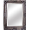Yosemite Home Decor 33.5-in W x 45.5-in H Antique Silver Rectangular Bathroom Mirror