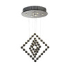 Trend Lighting 6-Light Spin Polished Stainless Steel Chandelier