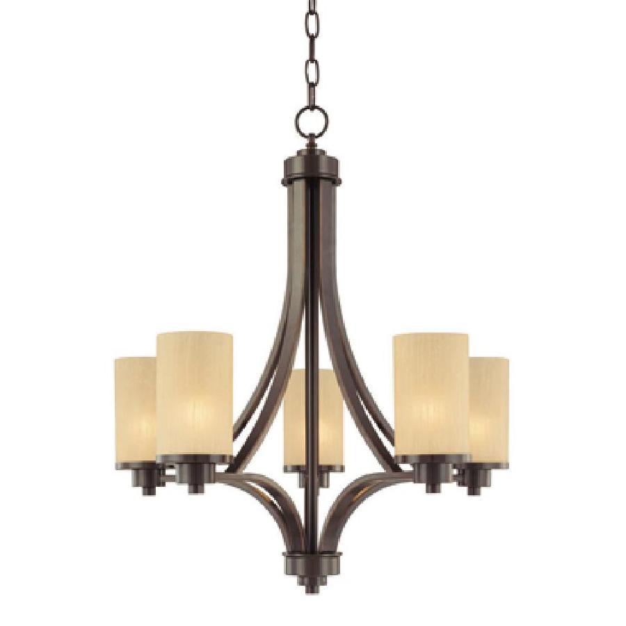 Shop Artcraft Lighting Parkdale 5-Light Oil-Rubbed Bronze