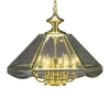 Volume International 6-Light Polished Brass Chandelier