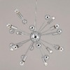 AF Lighting 12-Light Supernova Polished Chrome Chandelier