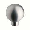 Siro Designs 1-in Stainless Steel Round Cabinet Knob