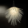 Trend Lighting 28-in W Cassini Polished Chrome Pendant Light with Clear Shade