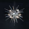 Trend Lighting 37-in W Orion Polished Chrome Pendant Light