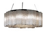 Trend Lighting 28-1/2-in W Pantages Polished Chrome Pendant Light