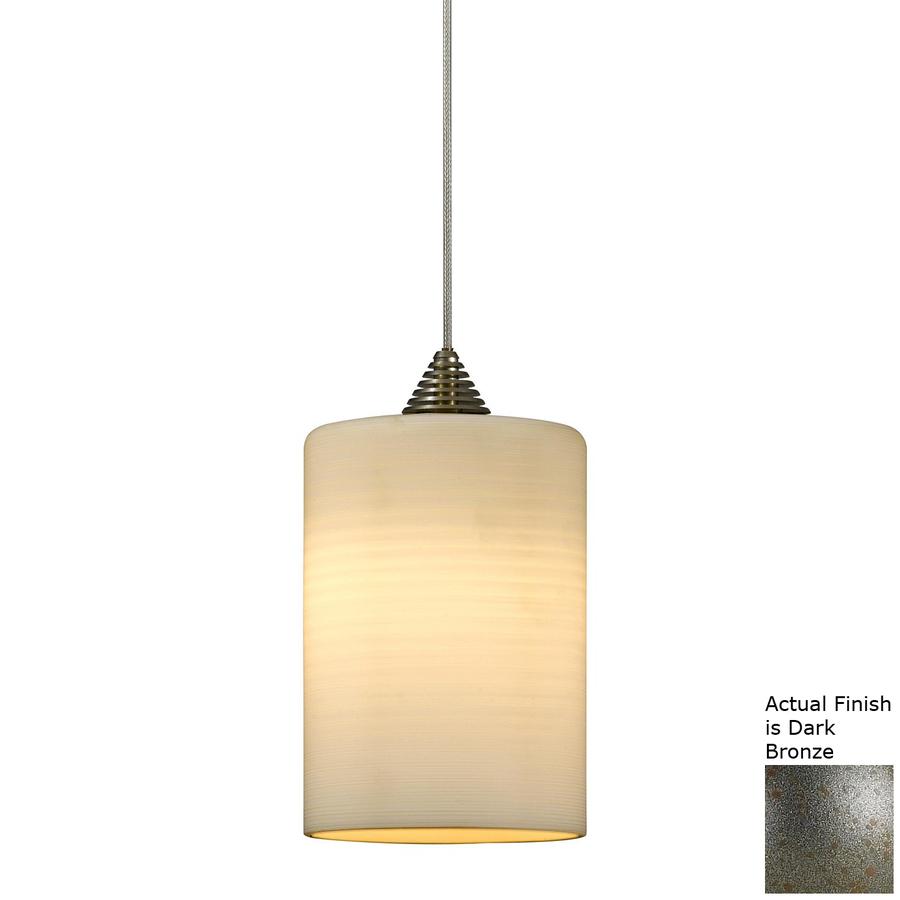 light led barrel dark bronze linear track lighting pendant at lowes. Black Bedroom Furniture Sets. Home Design Ideas