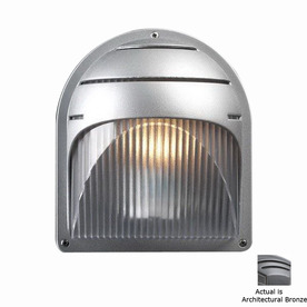 PLC Lighting Delphi 8-in Architectural Bronze Outdoor Wall Light