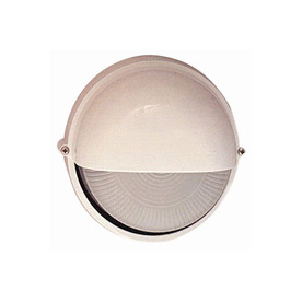 PLC Lighting Marine 10-in White Outdoor Wall Light
