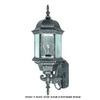 International Lighting 21-1/2-in Distressed Bronze Outdoor Wall Light