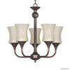 Whitfield Lighting 5-Light Oil-Rubbed Bronze Chandelier