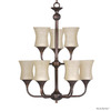 Whitfield Lighting 9-Light Oil-Rubbed Bronze Chandelier