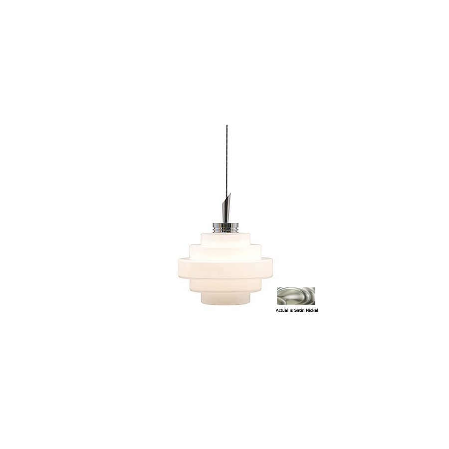 Pendant Track Lighting Lowes: Shop JESCO Satin Nickel Linear Track Lighting Pendant At