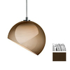 JESCO Chrome Sphere Linear Track Lighting Pendant