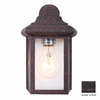 Volume International 8-3/4-in Rust Outdoor Wall Light