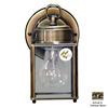 Volume International 8-in Antique Brass Outdoor Wall Light