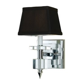 Candice Olson by AF Lighting Candice Olson Cluny 6-in W 1-Light Chocolate Arm Hardwired Wall Sconce