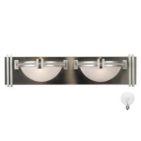 Elegant Lights Contemporary Stainless Steel Lights Bathroom Led Mirror Light