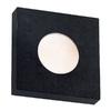 Kenroy Home Burst 10-in W 1-Light Black Pocket Hardwired Wall Sconce