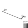 Amba 14-in Sirio Brushed Stainless-Steel Towel Bar