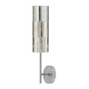 Paulmann 4-in W 1-Light Brushed Nickel Arm Wall Sconce