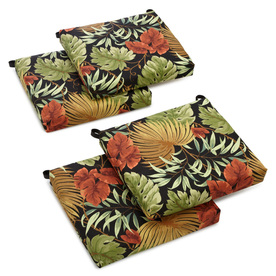 Blazing Needles Tropique Raven Tropical Cushion For Universal