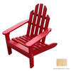Prairie Leisure Design Unfinished Aspen Wood Adirondack Chair