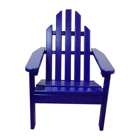 Prairie Leisure Design Berry Blue Adirondack Chair