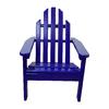 Prairie Leisure Design Berry Blue Patio Adirondack Chair