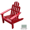Prairie Leisure Design Sage Wood Adirondack Chair