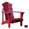 Shine Company Cherry Red Adirondack Chair