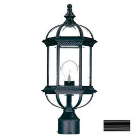 Acclaim Lighting Dover 19-in Matte Black Pier Mount Light