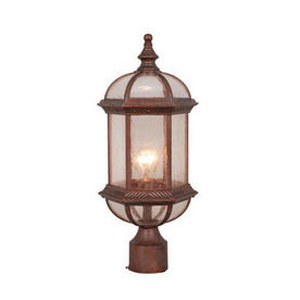 Cascadia Lighting Chateau 19-in Royal Bronze Pier Mount Light