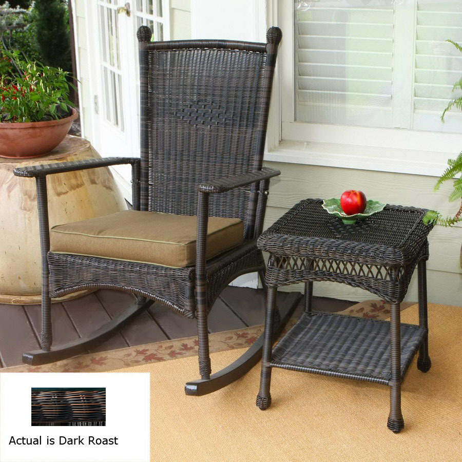Outdoor All Weather Wicker Chairs Set Of 2 Outdoor Patio