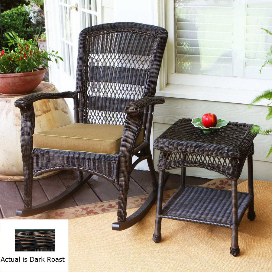 Outdoor all weather wicker chairs wicker adirondack for All weather outdoor furniture