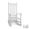 Tortuga Outdoor White Outdoor Rocking Chair