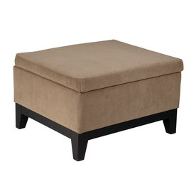 Office Star Avenue Six Espresso Rectangle Storage Ottoman MRG824-E11