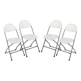 Office Star Set of 4 Indoor/Outdoor Standard Folding Chair