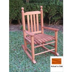 International Caravan Oak Outdoor Rocking Chair