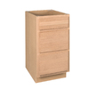 Project Source 34-1/2-in H x 18-in W x 24-in D Unfinished Drawer Base Cabinet