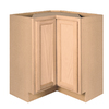 Project Source 36-in W x 34.5-in H x 15-in D Unfinished Brown Oak Base Cabinet