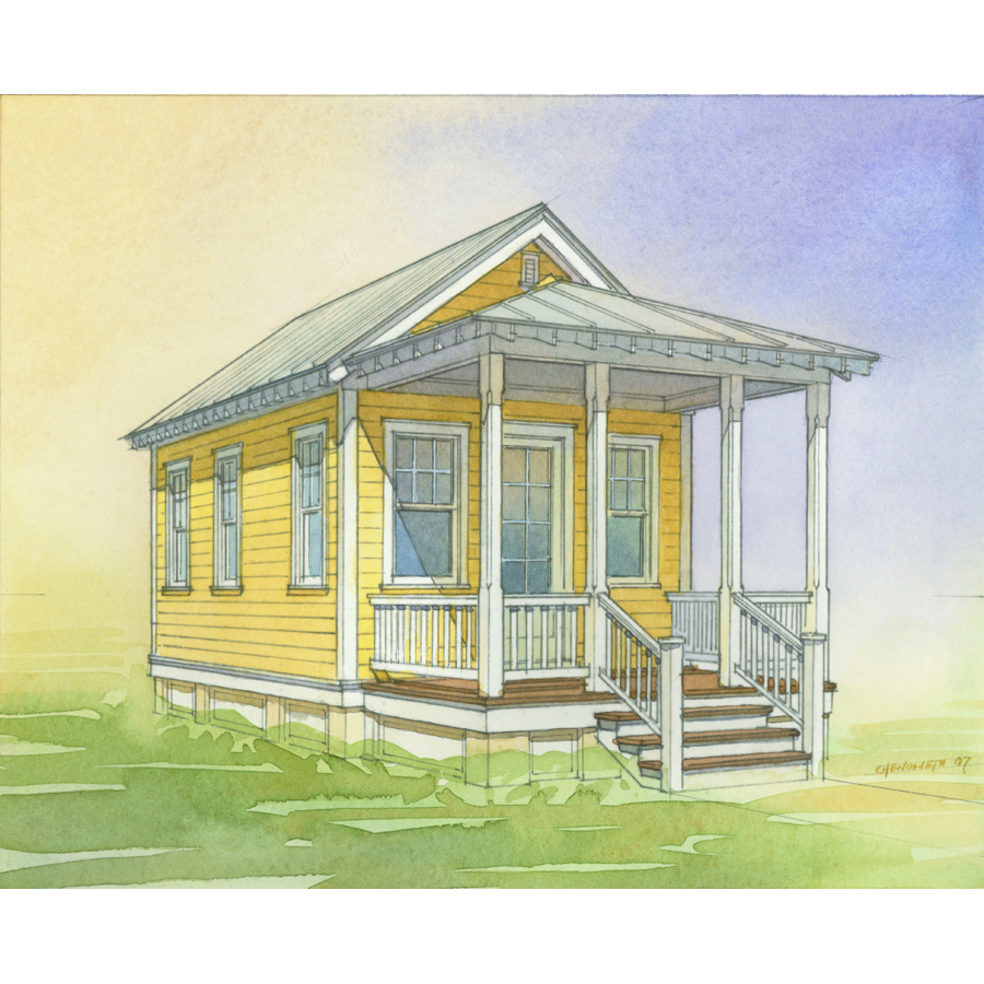 Lowes katrina cottage floor plans for Lowes cabins kits