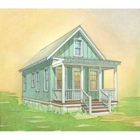 Shop lowe 39 s katrina cottage kc 517 plan set of 6 plans for Katrina cottage lowes