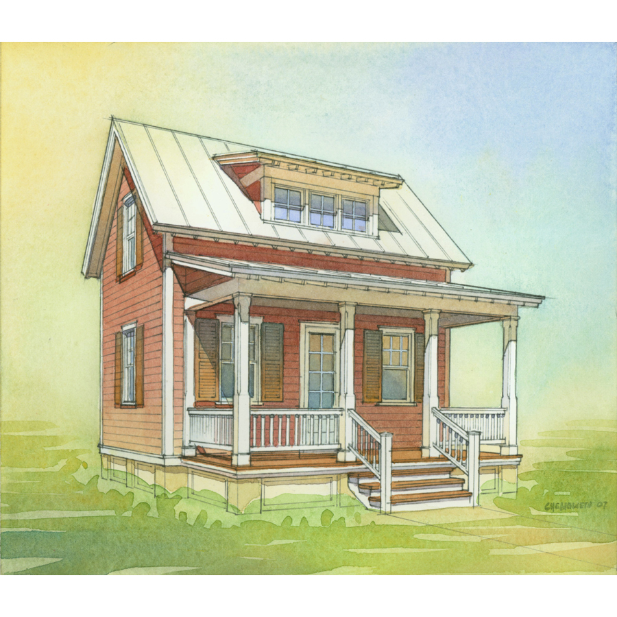 Shop Lowe 39 S Katrina Cottage Kc 633 Plan Set Of 6 Plans